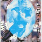 1996 Pacific Vinny Testaverde #10 Gold Foil Cel Football Card