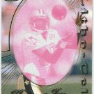 1996 Pacific Haywood Jeffires #66 Gold Foil Cel Football Card