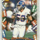 1996 Pacific Bill Romanowski #GT92 Game Time Card