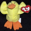 Quacks The Duck McDonalds TY Teenie Beanie Baby