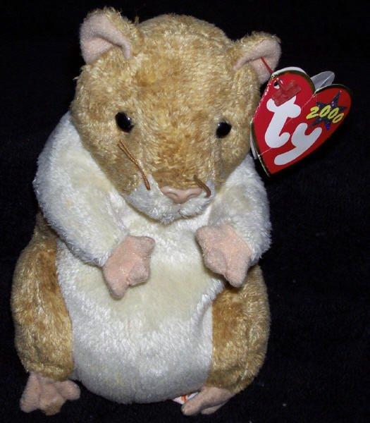 TY Beanie Baby Pellet The Hamster Born July 29 f55b8e42919