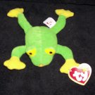 McDonalds TY Teenie Beanie Baby Smoochy The Frog