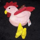 Strut The Rooster McDonalds TY Teenie Beanie Baby