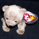 Pecan The Bear TY Beanie Baby Born April 15, 1999 Retired