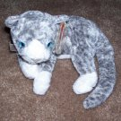 TY Beanie Baby Purr The Cat Born March 18, 2000 Retired