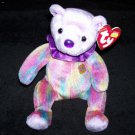 February The Bear TY Beanie Baby 2001 Retired