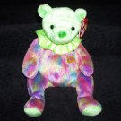 August The Bear TY Beanie Baby 2001 Retired