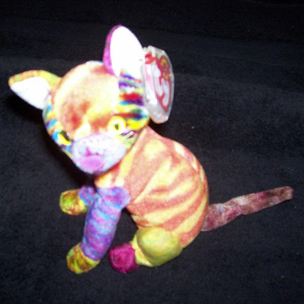 4c4d704ab1a Kaleidoscope The Cat TY Beanie Baby Born June 24