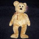 Cashew The Bear TY Beanie Baby Born April 22, 2000
