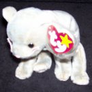 TY Beanie Baby Scat The Cat Born May 27, 1998 Retired