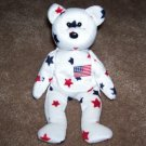 Glory The Bear TY Beanie Baby 1998 Retired