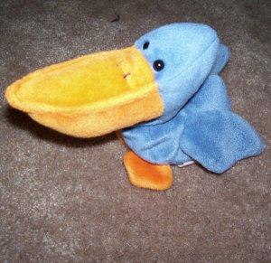 Scoop The Pelican Ty Beanie Baby 1996 Retired
