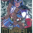 Marvel Metal #11 Captain America Silver Flasher Parallel Card
