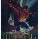Marvel Metal #43 Bloodhawk Silver Flasher Parallel Card