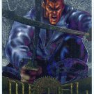 Marvel Metal #56 Blade Silver Flasher Parallel Chase Card