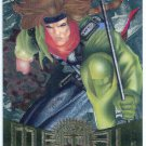 Marvel Metal #4 Gambit Silver Flasher Parallel Chase Card