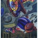 Marvel Metal #14 Thunderstrike Silver Flasher Parallel Card