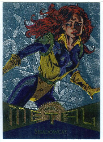 Marvel Metal #117 Shadowcat Silver Flasher Parallel Card