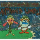 Ren and Stimpy 1993 #4 Sticker Puzzle Trading Card