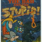 Ren and Stimpy 1993 #34 Sticker Puzzle Trading Card