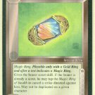 Middle Earth Magic Ring Of Stealth Uncommon Game Card