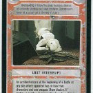 Star Wars CCG Friendly Fire Premiere Limited Game Card