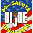 GI Joe 30th Salute Promo Unnumbered Trading Card
