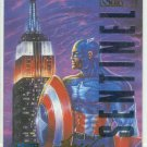 Marvel Masterpieces 1995 Emotion #17 Gold Foil Card Captain America