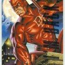 Marvel Masterpieces 1995 Emotion #27 Gold Foil Card Daredevil