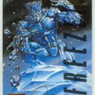 Marvel Masterpieces 1995 Emotion #47 Gold Foil Card Iceman