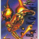 Marvel Masterpieces 1995 Emotion #53 Gold Foil Card Iron Man