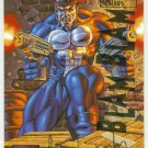 Marvel Masterpieces 1995 Emotion #81 Gold Foil Card Punisher