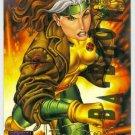 Marvel Masterpieces 1995 Emotion #84 Gold Foil Card Rogue