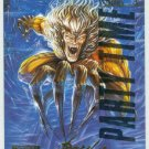 Marvel Masterpieces 1995 Emotion #87 Gold Foil Card Sabretooth