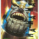 Marvel Masterpieces 1995 Emotion #97 Gold Foil Card Thanos