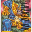 Marvel Masterpieces 1995 Emotion #99 Gold Foil Card Thanos