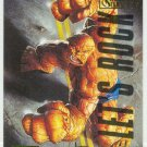 Marvel Masterpieces 1995 Emotion #100 Gold Foil Card Thing