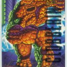 Marvel Masterpieces 1995 Emotion #102 Gold Foil Card Thing