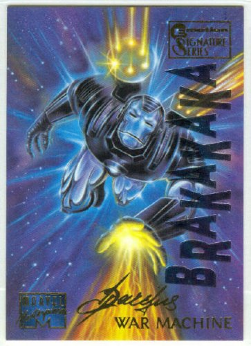 Marvel Masterpieces 1995 Emotion #110 Gold Foil Card War Machine
