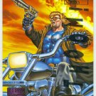 Marvel Masterpieces 1995 Emotion #117 Gold Foil Card Blaze