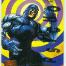 Marvel Masterpieces 1995 Emotion #119 Gold Foil Card Cyber