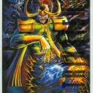 Marvel Masterpieces 1995 Emotion #131 Gold Foil Card Loki