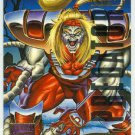Marvel Masterpieces 1995 Emotion #138 Gold Foil Card Omega Red