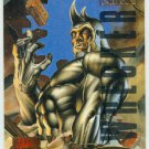 Marvel Masterpieces 1995 Emotion #141 Gold Foil Card Rhino
