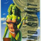 Marvel Masterpieces 1995 Emotion #145 Gold Foil Card She-Hulk