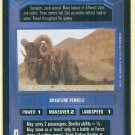 Star Wars CCG Bantha Premiere Uncommon Game Card