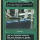 Star Wars CCG Blaster Scope Limited Uncommon Game Card