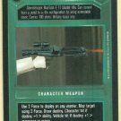 Star Wars CCG Blaster Rifle Premiere Dark Side Game Card