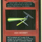 Star Wars CCG Dark Maneuvers Premiere Limited Game Card