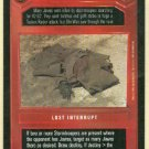 Star Wars CCG Dead Jawa Premiere Limited Game Card